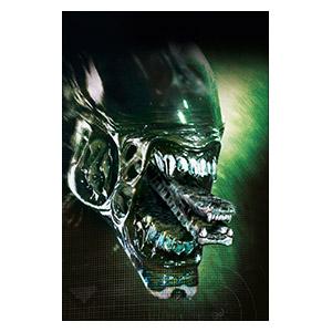 Alien. Размер: 20 х 30 см